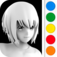 Figuromo Artist : Anime Bishoujo Doll - 3D Figure Color Combine
